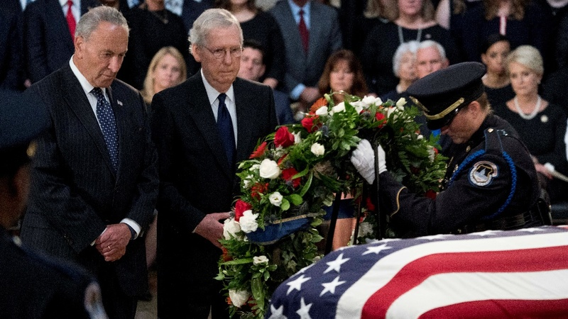 INSIGHT: Colleagues pay tribute to McCain