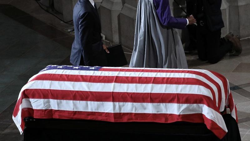 VERBATIM: Saying goodbye to Sen. John McCain