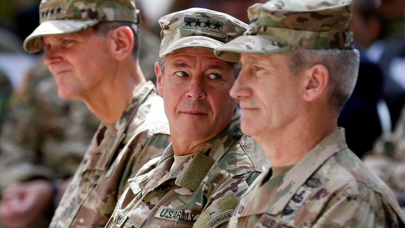New U.S. general arrives in Afghanistan