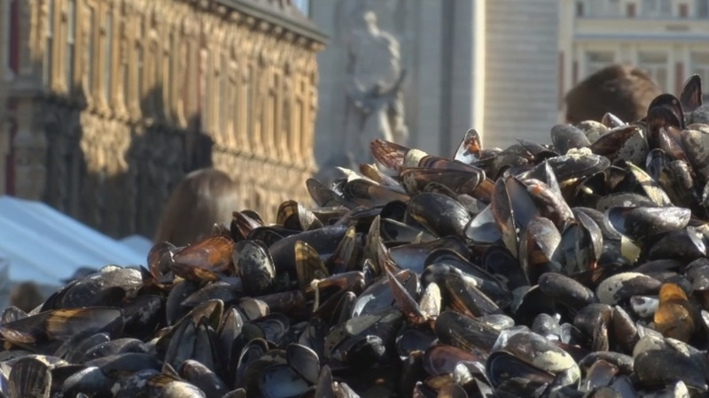 Mussel mass: Europe's largest flea market