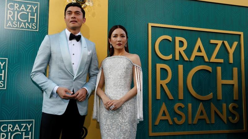 'Crazy Rich Asians' tops weekend box office