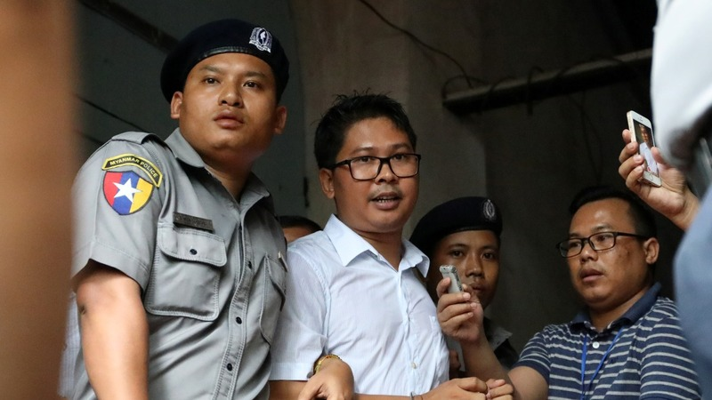 Reuters reporters sentenced to prison in Myanmar