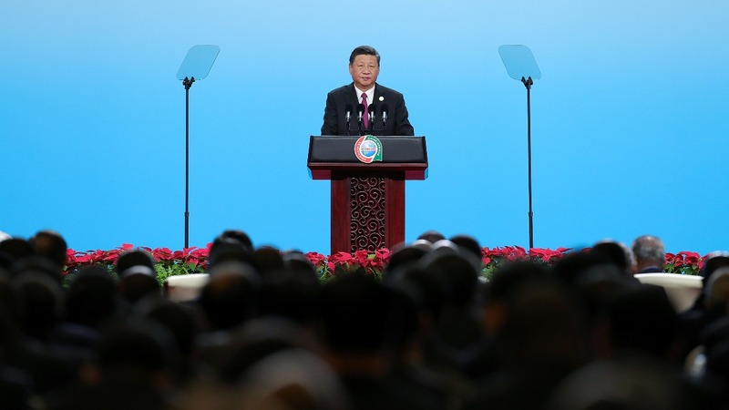 China's Xi says no catch in money for Africa