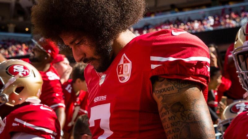 NFL rebel Kaepernick fronts new Nike campaign