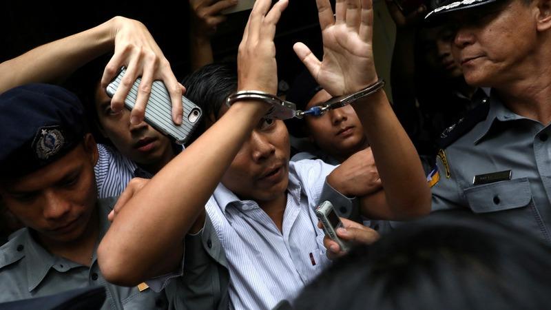 Myanmar media condemn jailing of Reuters reporters
