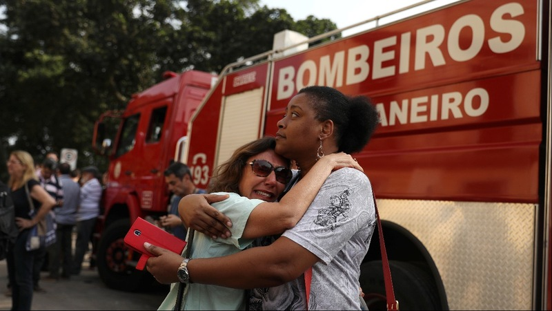 Brazil mourns loss of museum destroyed by fire