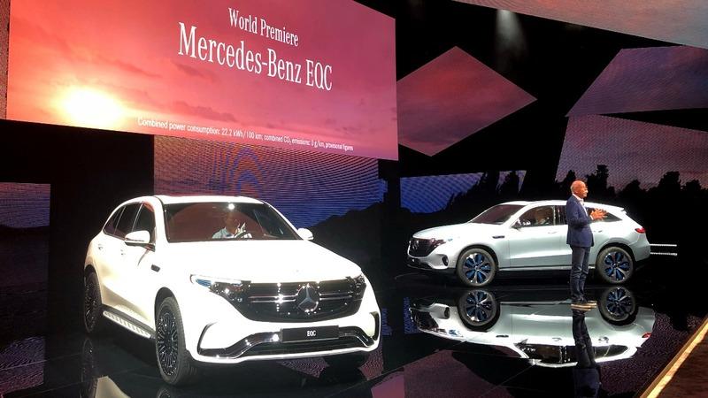 Mercedes opens the German assault on Tesla