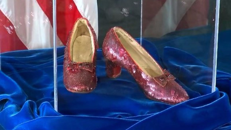 Dorothy's stolen ruby slippers recovered by FBI