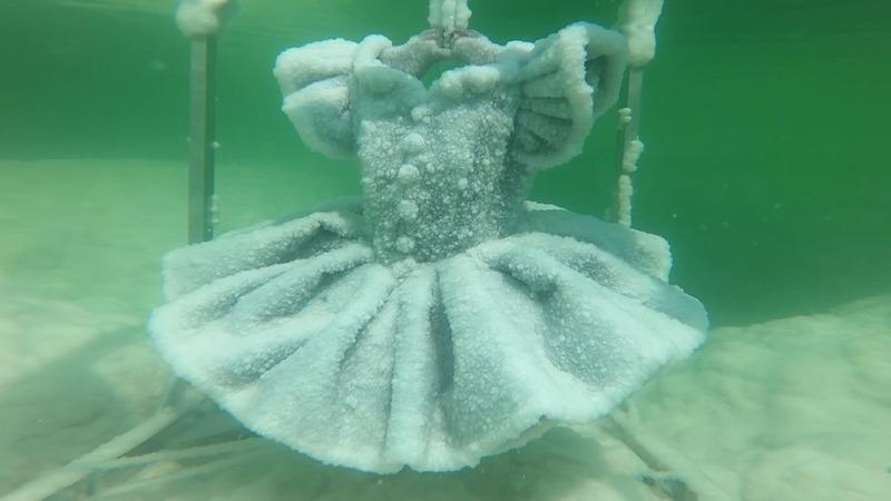 INSIGHT: Dead Sea salt turns into art