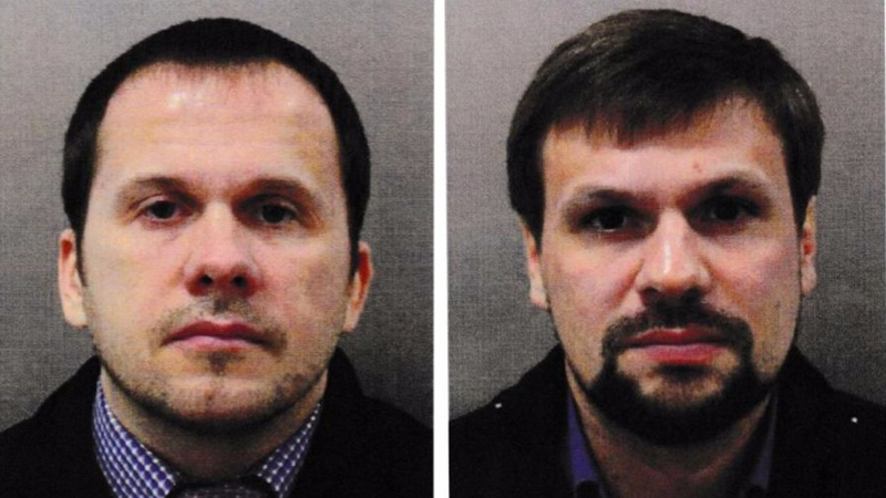 UK names Russian agents as Novichok suspects