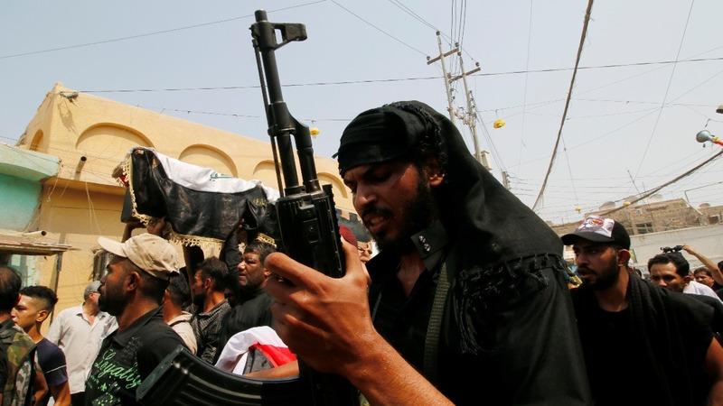 Protesters killed in Iraq violence