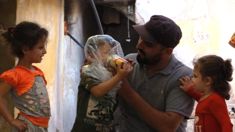 Paper cups for gas masks: Idlib braces for attack
