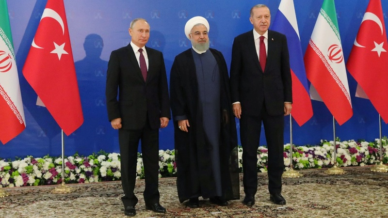 Erdogan, Putin and Rouhani meet for Idlib talks