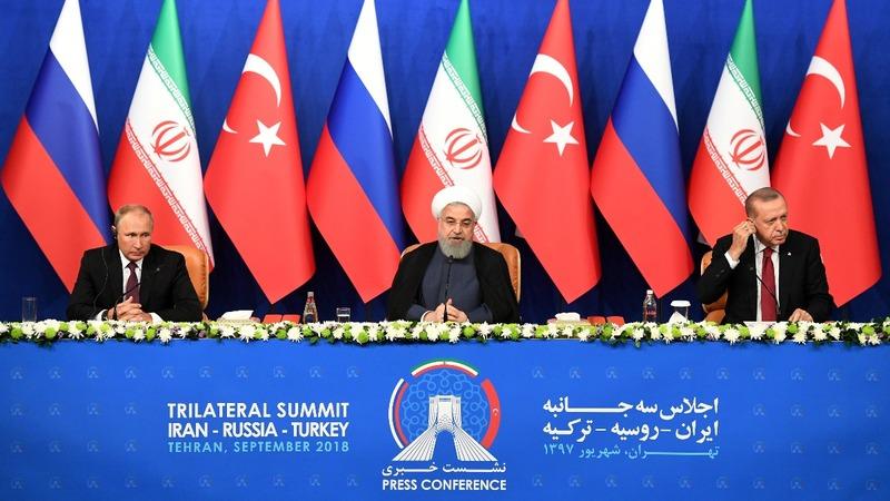 Russia, Turkey, Iran fail to agree on Idlib ceasefire