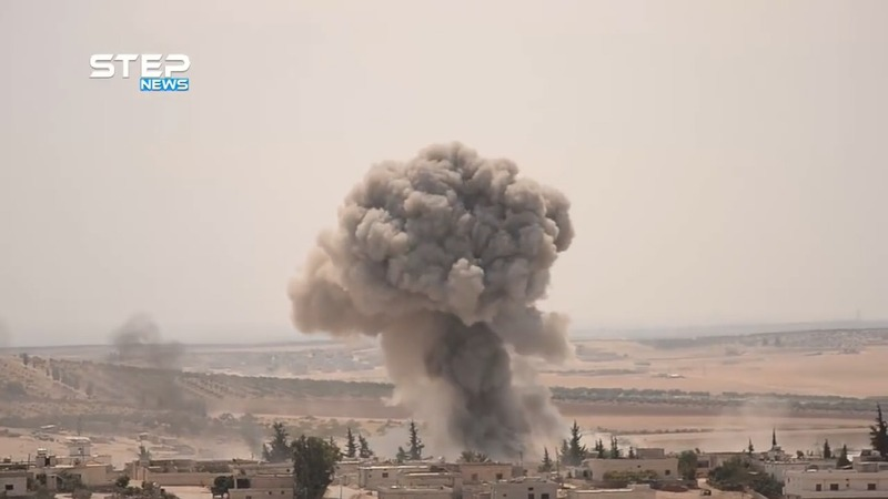 Russian and Syrian jets pound Idlib after summit