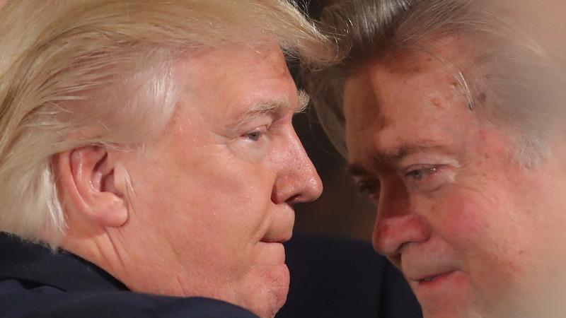 President Trump facing a 'coup': Bannon