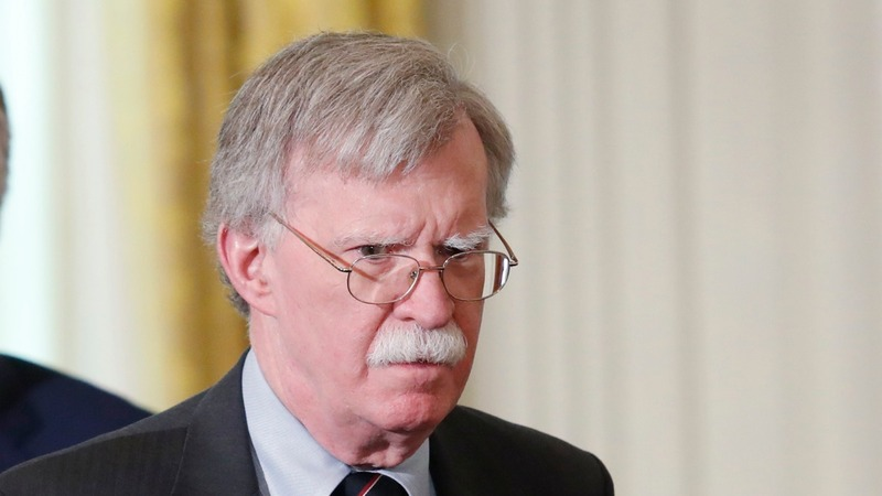 Bolton threatens U.S. sanctions on Hague judges