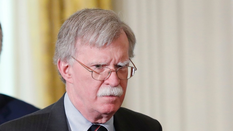 Bolton threatens U.S. sanctions on Hague judges