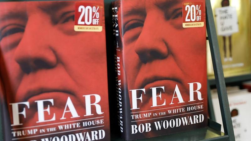 Trump praises 'beautiful' denials as 'Fear' hits shelves