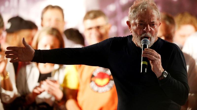 Brazil's Lula drops fight for presidency
