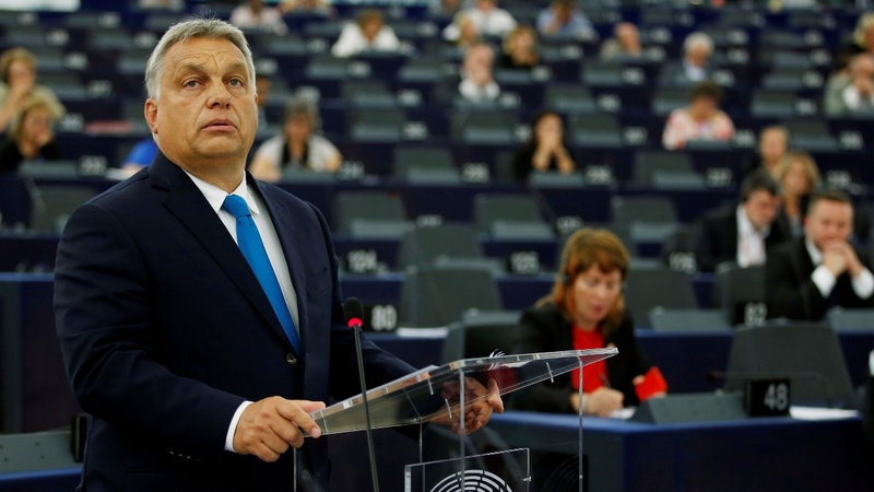 The EU votes to punish Hungary for breaching law