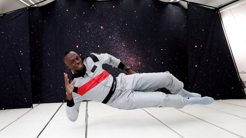 INSIGHT: Usain Bolt challenges zero-gravity