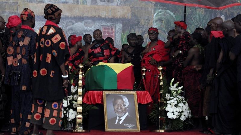 Ghana bids farewell to former U.N. chief Annan