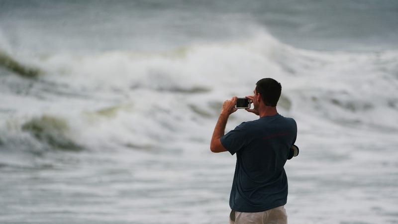 A life-threatening hurricane swirls toward North Carolina
