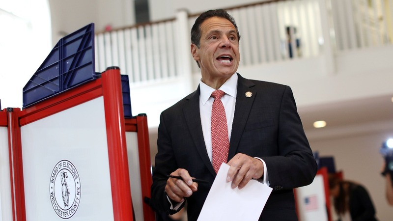 Cuomo cruises to easy win in New York primary