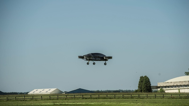 Flying taxis could take to the skies by 2022