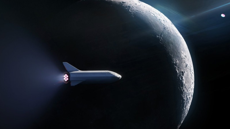 SpaceX signs first private passenger for moon voyage