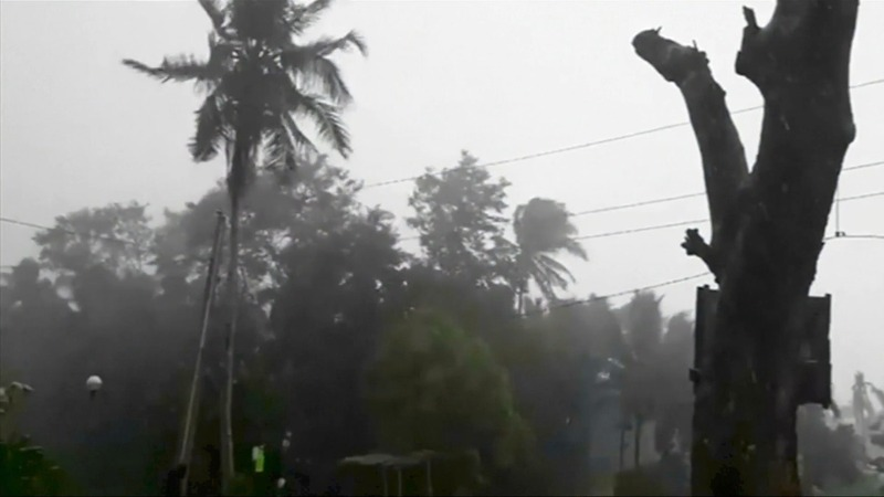 Super Typhoon Mangkhut batters the Philippines