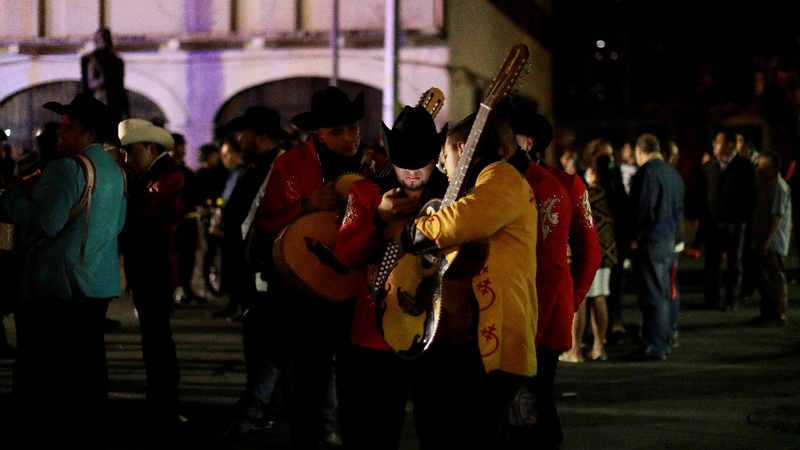 Five dead in shootout at Mexico City mariachi plaza