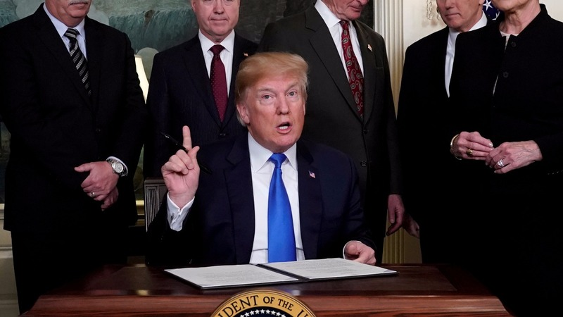 Trump about to impose new China tariffs: source