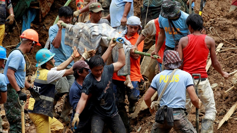 Rescuers search for survivors after Asia's super typhoon