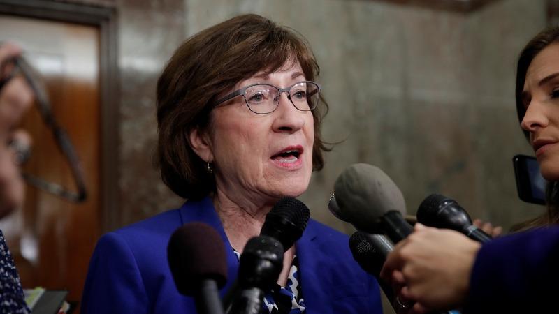 VERBATIM: Sen. Collins wants Kavanaugh, accuser to testify