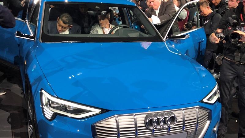 Audi unveils the eTron with an eye on Tesla