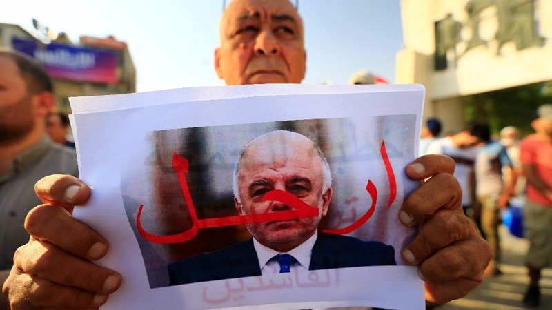 Protests weaken U.S. sway over next Iraqi govt