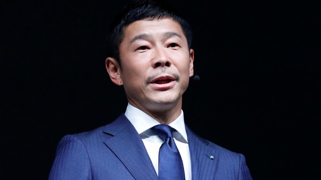 The Japanese billionaire Musk is putting in space