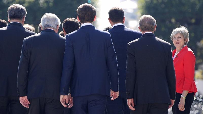 EU leaders keep up Brexit pressure on May