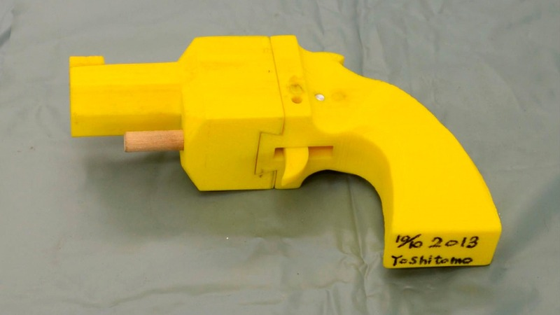 3-D printed guns promoter detained in Taiwan