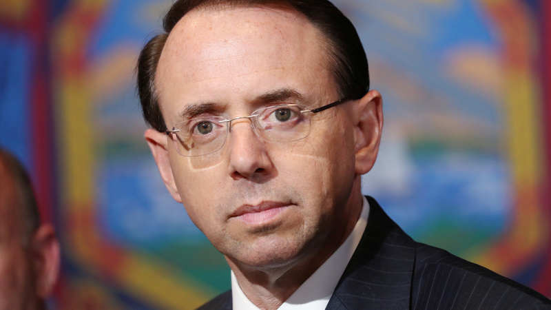 Rosenstein weighed declaring Trump unfit: report