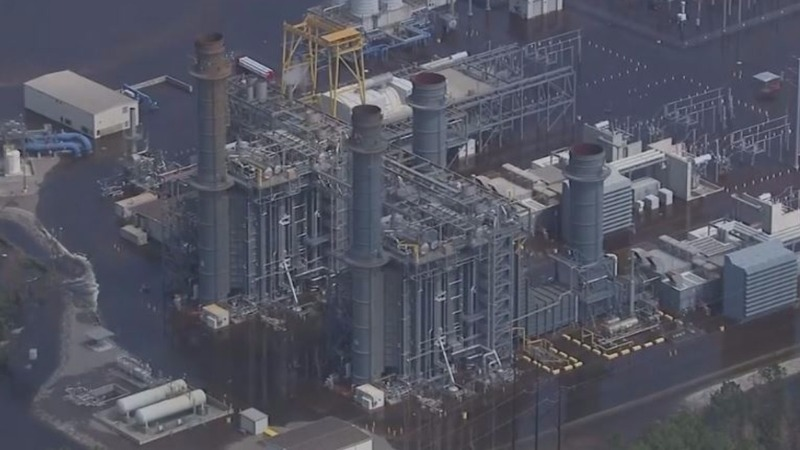 Florence flooding forces shutdown of NC natgas plant