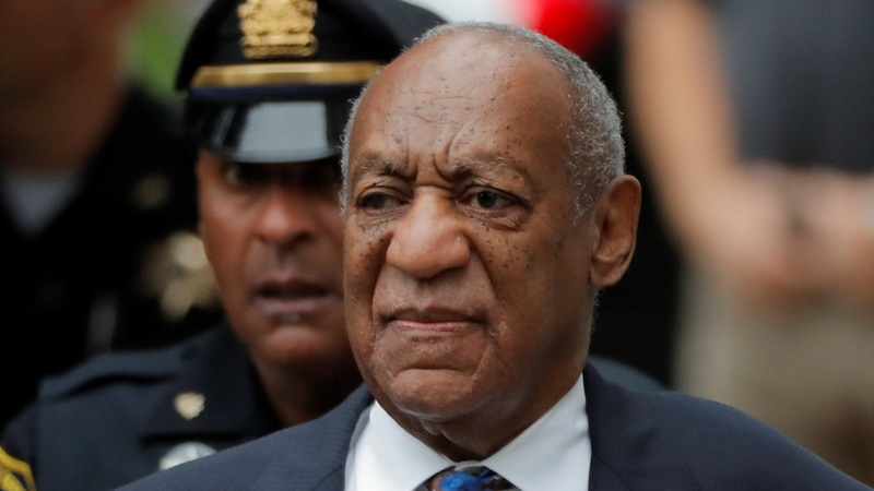 Cosby arrives for sentencing hearing