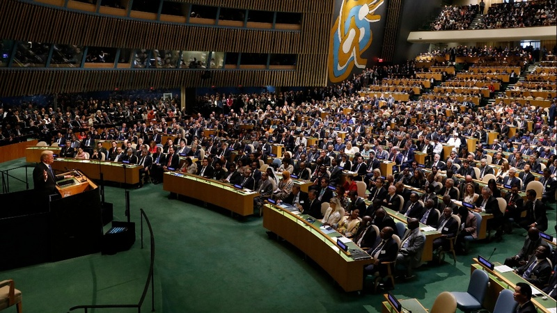 Trump to tout U.S. sovereignty at U.N.