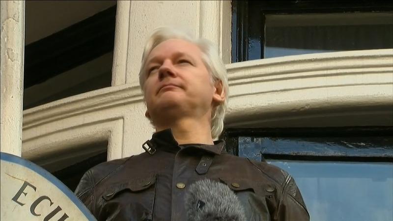 Russia tried to help Assange escape from Embassy