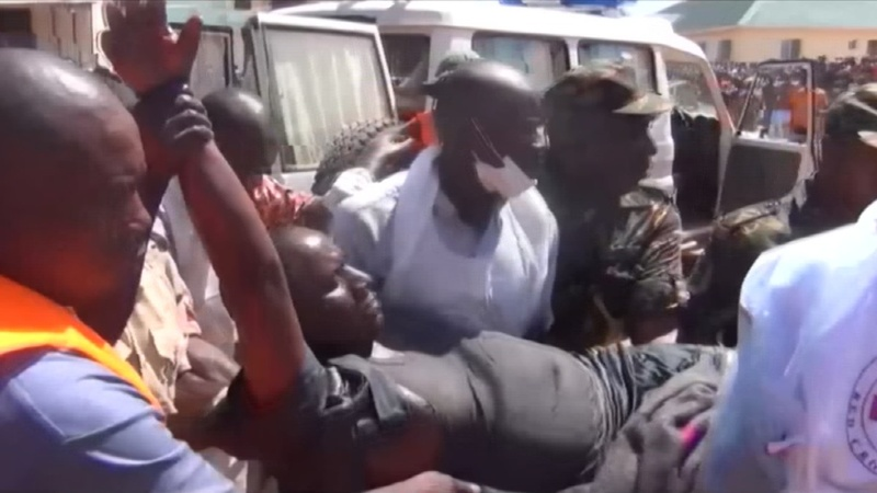 Survivor pulled from Tanzanian ferry wreck