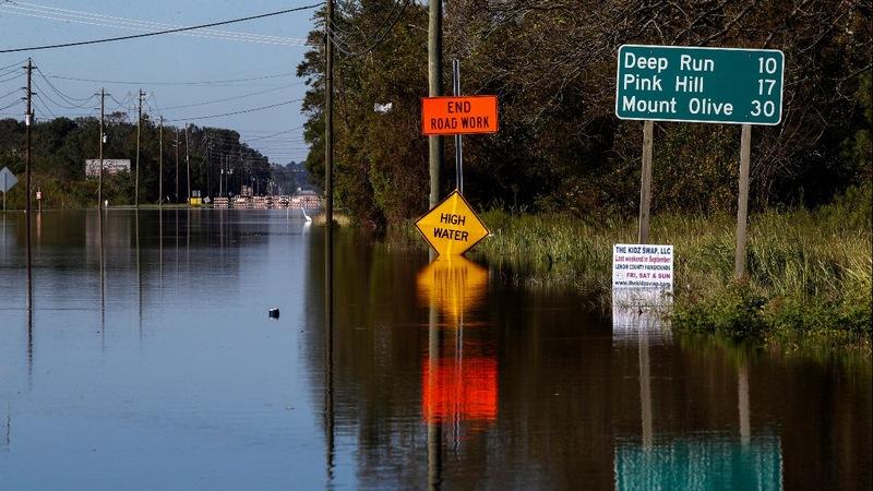 Florence-hit areas still under threat: officials