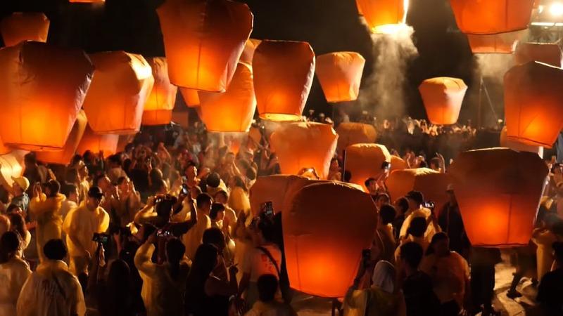 INSIGHT: Colorful lanterns flood Taiwan's sky
