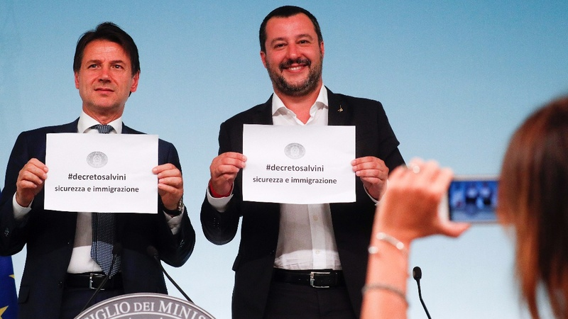 Italy's Salvini moves to tighten asylum laws